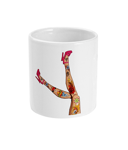 Great Legs, Great Tattoo's, Great Shoes, Mug