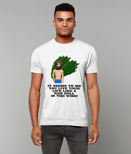 Ken Doll In The Wind, Funny Gay Interest T-Shirt