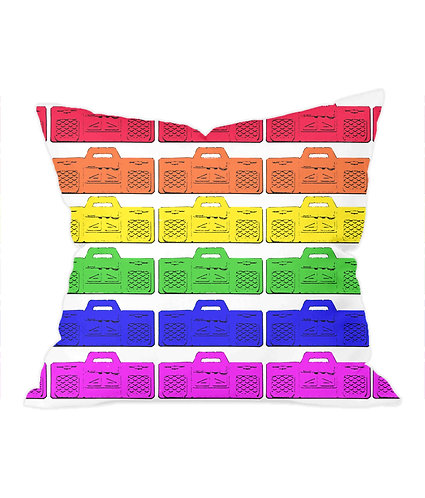 Stereos Stereo's! Coll Throw Cushion Cover
