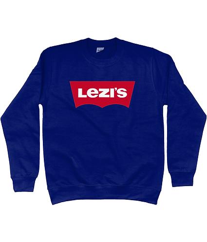 Lezi's! Funny, Lesbian Sweatshirt
