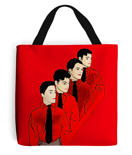 Kraftwerk Dolls, Pop Art Tote Bag