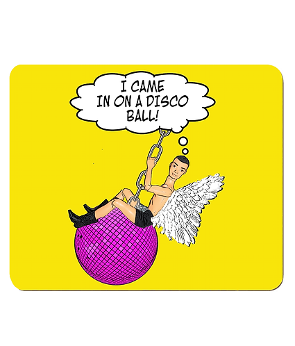 4 x I Came In On A Disco Ball, Funny, Gay, Place Mats
