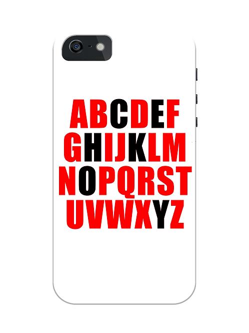 Alphabet Field Hockey i-phone case