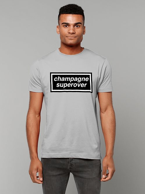 Champagne Superover! Funny, Cool Cricket T-Shirt