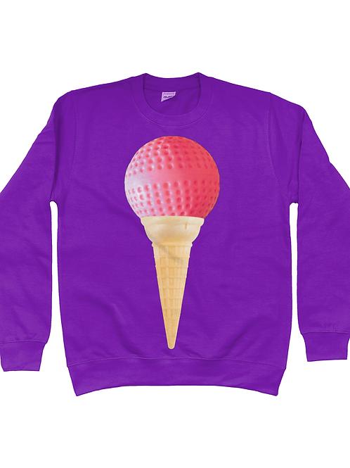 Ice Cream Field Hockey Sweatshirt