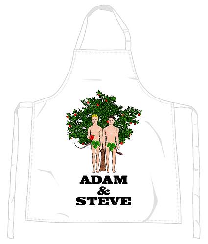 Adam & Steve Apron