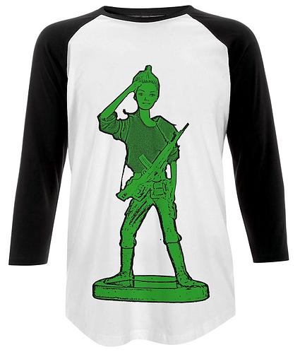 Toy Soldier Girl! Baseball Shirt