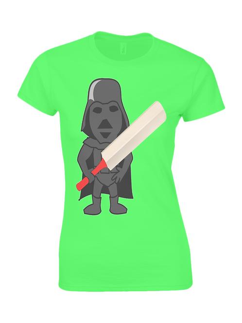 Darth Cricket Ladies T-Shirt