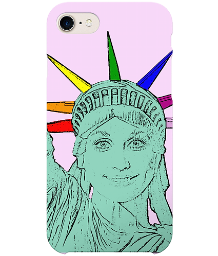 Dolly Parton as The Statue of Liberty, Funny, Gay, i-Phone Case