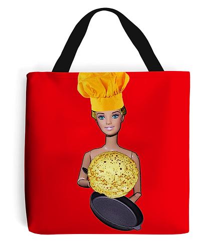 Naked Chef Tote Bag