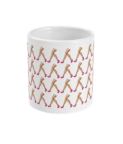 Funny Mug! March of the hairy legs!
