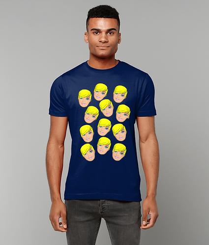 Short Hair Don't Care T-Shirt! Funny Pop Art T-Shirt