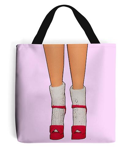 Socks & Stilettos Tote Bag