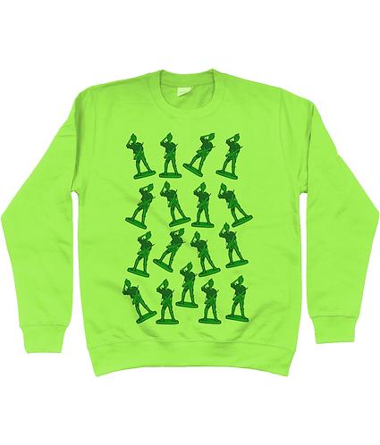 Girl Toy Soldiers Sweatshirt