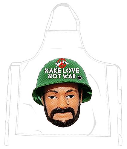 Make Love Not War Apron
