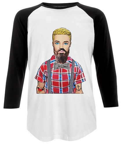 Hipster Baseball Shirt