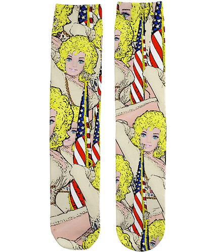Funny, Cool Tube Socks. Good Golly It's Dolly!