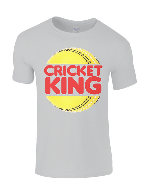 Cricket King Kids T-Shirt
