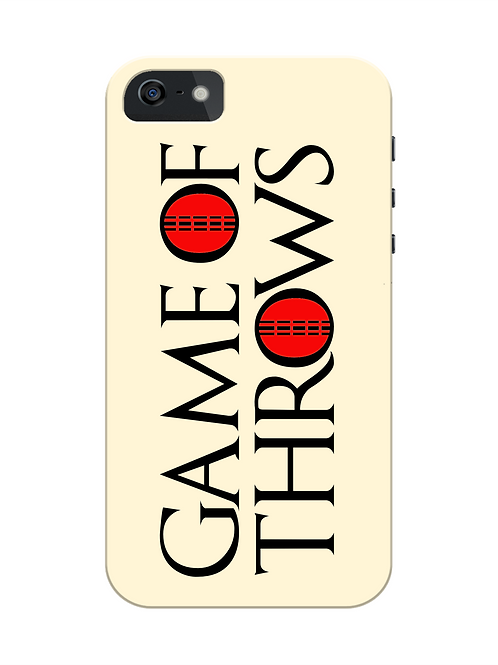 Game of Throws i-phone case