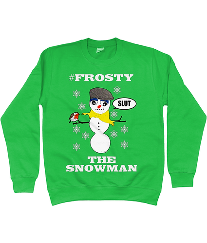 #Frosty The Snowman! Rude, Funny Christmas Jumper!
