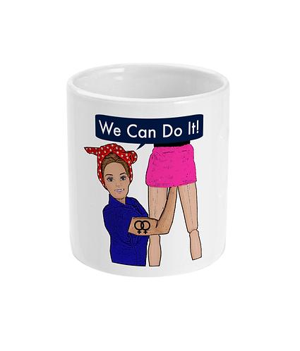 We Can Do It, Rude, Lesbian Mug