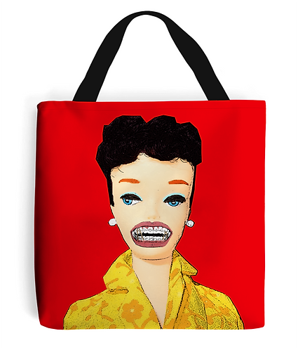 Dental Braces, Funny Tote Bag