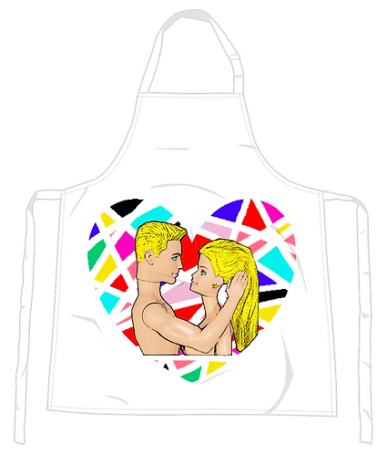 The Look of Love Apron