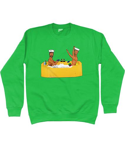 Anyone For Quoits? Rude, Gay Sweatshirt