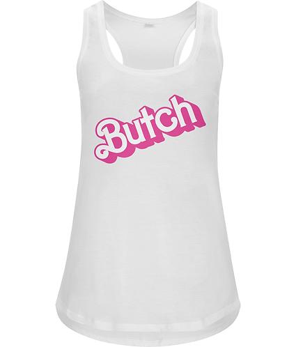 Butch!  Funny Lesbian Racerback Vest