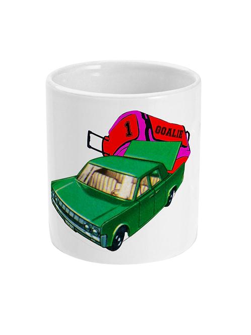 Goalkeeper Car! Funny Hockey Mug