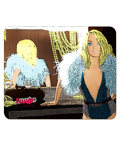4 x Britney Doll Place Mats