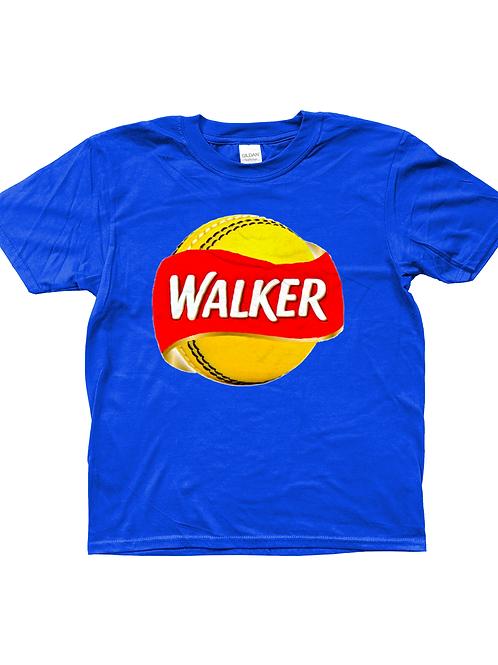 Walker! Cool, Kids Cricket T-Shirt