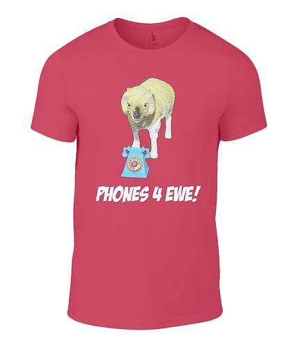 Phones 4 Ewe Ladies T-Shirt
