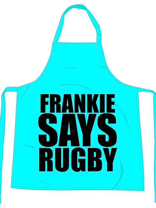 Frankie Says Rugby Apron