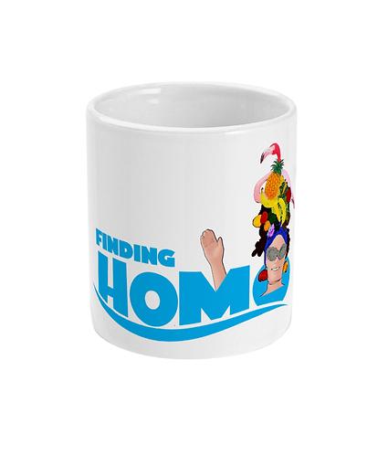 Finding Homo! Funny, Gay, Mug
