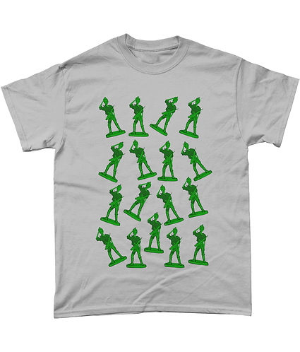 Girl Toy Soldiers! Funny Pop Art T-Shirt