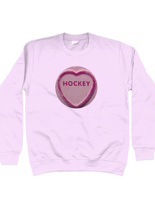 Hockey Loveheart Field Hockey Sweatshirt
