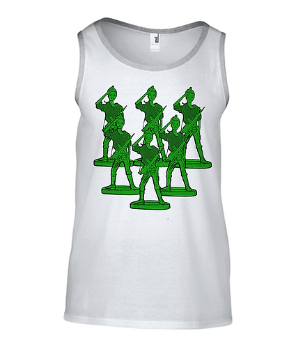 Toy Soldier Army Tank Top