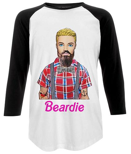Beardie, Funny Hipster Baseball Shirt
