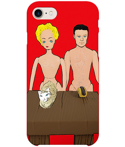 Pussy & A Hot Dog, Rude, Funny i-Phone Case
