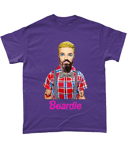 Beardie, Funny Hipster T-Shirt