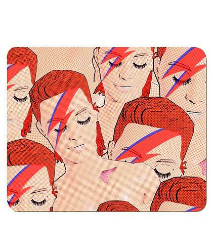 4 x Pop Art Bowies Place Mats
