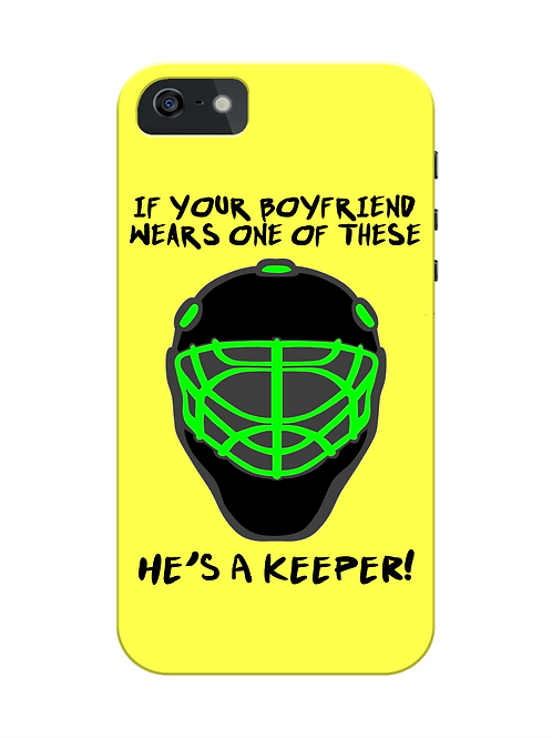 Boyfriends a Keeper Field Hockey i-phone case