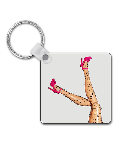 Great Legs, But You Need A Shave Love, Funny Keyring