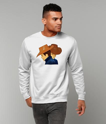 Brokeback Mountain, Gay Pop Art, LGBT Sweatshirt