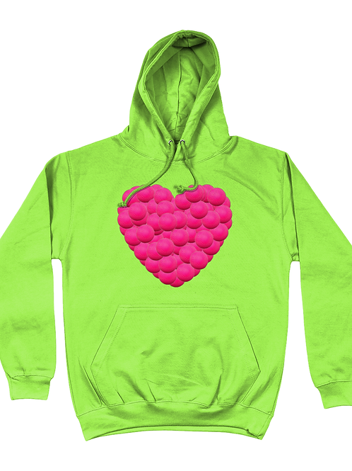 Hockey Ball Heart Field Hockey Hoodie