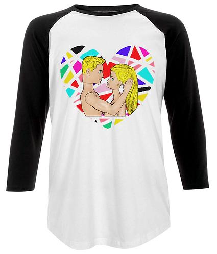 The Look of Love Baseball Shirt