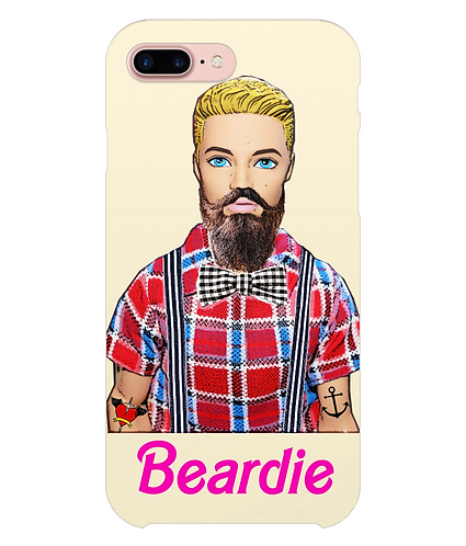 Beardie, Funny Hipster i-Phone Case
