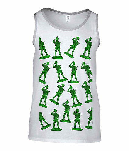 Girl Toy Soldiers Tank Top