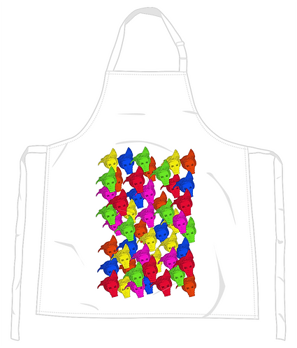50 Shades of Gay Apron